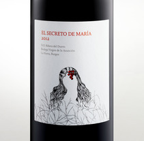 Bodega Virgen de la Asunción, El secreto de María. A Packaging project by Pati Nuñez - 31-08-2014