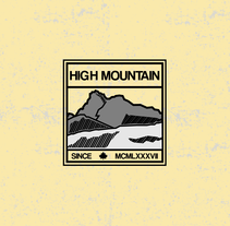 High mountain. A Graphic Design project by Pablo Deparla         - 03.11.2015