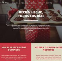 Proyecto final-Café Oslo. Un proyecto de Diseño Web de María José Salva Rez         - 12.12.2015
