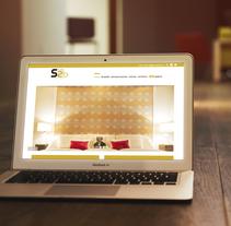 Página web studio2b.es. Um projeto de Design gráfico, Design de interiores e Web design de Alex Goienetxea - 14-11-2015