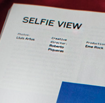 Selfie View  Wad Mag f/w015. A Photograph project by Francisco Martinez Guijosa         - 17.11.2015