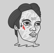 FACES G/R/B. A Illustration, Art Direction, and Fine Art project by ElTrece (-_-    ) - Nov 18 2015 12:00 AM