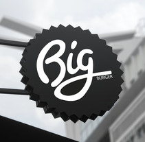 Branding - Big Burger. A Editorial Design, Graphic Design, Packaging, and Web Design project by Laura Delgado         - 18.11.2015