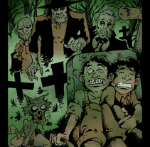 Ilustración Tom Sawyer with zombies. A Illustration project by Alberto Peral Alcón - 18-11-2015