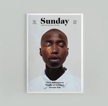 Sunday Mag | Editorial Design. Un proyecto de Dirección de arte, Diseño editorial y Diseño gráfico de Míriam R. Seoane         - 20.11.2015