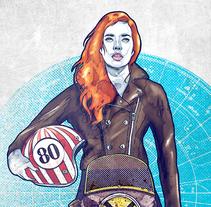 Algo personal. Un proyecto de Ilustración, Diseño de automoción y Diseño gráfico de Moises Andrade - 23-11-2015