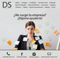 ¿No surge tu empresa? ¡Déjame ayudarte!. A Design, and Graphic Design project by David Sánchez         - 30.04.2015