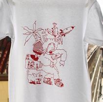Camisetas serigrafiadas #RAP (por encargo). A Illustration, and Screen-printing project by Leandro Mosco - 25-11-2015