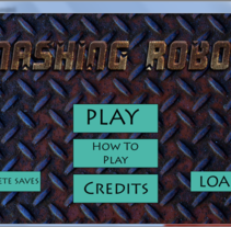 Smashing Robots (videojuego). A Software Development, IT, Animation, and Game Design project by Julian Lobeto - 25-11-2015