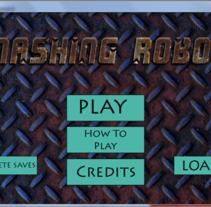 Smashing Robots (videojuego). Um projeto de Desenvolvimento de software, Informática, Animação e Design de jogos de Julian Lobeto         - 25.11.2015