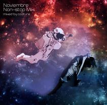 Noviembre 2015 - Non-stop Mix. Um projeto de Ilustração e Design gráfico de Jose Antonio Aroca - 25-11-2015