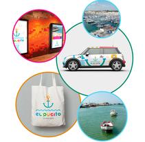 Logotipo Turismo El Puerto de Santa María. A Br, ing, Identit, Graphic Design, and Calligraph project by Daniel RGB         - 29.11.2015