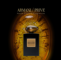 Armani Privé Ambre Eccentrico. A Motion Graphics, 3D, Animation, Events, and Video project by Melo  - 30-11-2015