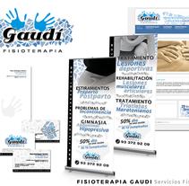 FISIOTERAPIA GAUDI - Direccion Creativa / Arte / Diseño Gráfico / Diseño Web / UX / UI. Um projeto de Publicidade, Design gráfico, Marketing e Web design de Sergi Vidal Paris         - 02.12.2015
