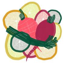 #HealthyFood. Un proyecto de Ilustración de Eva Delaserra         - 03.12.2015