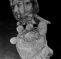 Victor Frankenstein. A Illustration, 3D, Fine Art, and Graphic Design project by Alberto Castiñeira Iglesias         - 04.12.2015