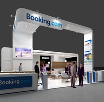 Diseño Stand Booking (Fitur 2015). A 3D, Architecture, Br, ing, Identit, Events&Interior Architecture project by Quique Cestrilli         - 04.01.2015