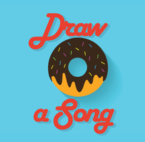 Draw a Song. A Design, Illustration, Art Direction, Fine Art, Graphic Design, and Calligraph project by Gianni Antonucci         - 26.12.2015