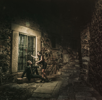 Luz fantasma en el Casco Viejo de Cáceres. Um projeto de Fotografia de marquez.photodesign         - 09.12.2015