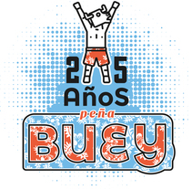 Camiseta peña Buey. Un proyecto de Diseño gráfico de David González Gallego         - 13.12.2015