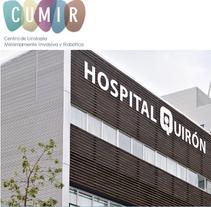 Cumir · Hospital Quirón Barcelona. Um projeto de Br e ing e Identidade de Begoña Vilas         - 14.05.2014