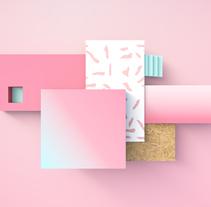 Geometry. Un proyecto de 3D y Dirección de arte de I'm blue I'm pink         - 14.12.2015