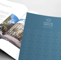 Dossier comercial Paseo de Gracia - CBRE. A Art Direction, Editorial Design, and Graphic Design project by LeBranders Global Design Solutions  - 30-12-2015