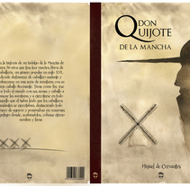 "Diseño de Portada Novela Clásica ""Don Quijote"". Acuarela & Digital. A Design, Illustration, Fine Art, Painting, and Product Design project by BORCH         - 06.01.2016"