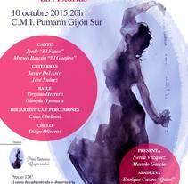 III Festival flamenco de Asturias. Un proyecto de Diseño de iluminación de Marcos Flórez Tascón         - 12.01.2016