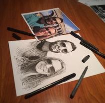Melina y Raúl. Pilot. A Design, Illustration, Photograph, Fine Art, and Painting project by BORCH         - 06.01.2016
