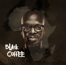 Black Coffee dj. Digital. A Design, Illustration, Fine Art, Graphic Design, and Painting project by BORCH         - 11.01.2016