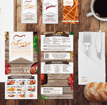 Cheff & Cheff. A Advertising, and Graphic Design project by Ana Mareca Miralles - 13-10-2013