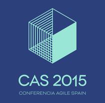CAS2015 - Conferencia Agile Spain. Um projeto de Direção de arte, Br, ing e Identidade, Eventos e Design gráfico de pounstudio - 18-01-2016