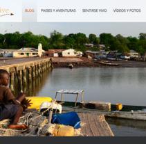 Web - BLOG - Wordpress - aventurateyvive.com. Un proyecto de Diseño Web y Desarrollo Web de Esther Martínez Recuero - Martes, 20 de enero de 2015 00:00:00 +0100