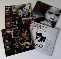 Revista CNM Magazine. A Editorial Design, and Writing project by Encarni Mármol - 23-01-2011