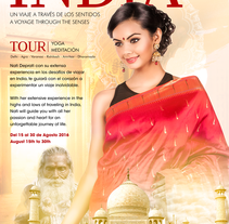 India travel Flyer. A Design, Advertising, and Art Direction project by Hector Luis Muñoz         - 24.01.2016