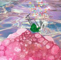 Exposición Madrid Huele a Pintura organizada por VesArte21. Un proyecto de Ilustración, Fotografía, Diseño de personajes, Bellas Artes, Diseño gráfico y Collage de Nuria González Fernández         - 09.02.2016