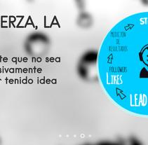 Diseño & Desarrollo web iMeelZ COMUNICACIÓN. A Design, Graphic Design, Web Design, and Web Development project by Beatriz Chaves Bueno         - 02.03.2015