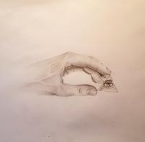 Dibujo a lápiz. Mano. Un proyecto de Diseño, Ilustración, Bellas Artes, Diseño gráfico y Pintura de Miguel Angel Lallana Figueroa - 14-02-2016