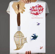 LIBERTARTE. A Design&Illustration project by Pecreativa         - 15.02.2014