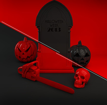 Halloween Madeon. Un proyecto de Diseño, Publicidad, 3D, Diseño gráfico y Marketing de Carlos Go-niji Loera Orozco         - 22.02.2016
