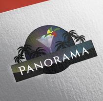Panorama Coctail Bar playa. Um projeto de Br, ing e Identidade e Design gráfico de BUZ         - 24.02.2016