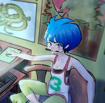 Vanessa Von Lumen. Un proyecto de Diseño, Animación, Diseño de personajes y Bellas Artes de Beatriz López Albir - 11-08-2015