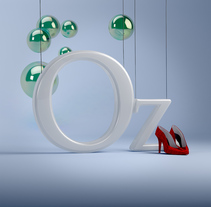 Oz & Emerald City Dirección de Arte con Cinema 4D. Um projeto de 3D e Direção de arte de erikfromoz         - 29.02.2016