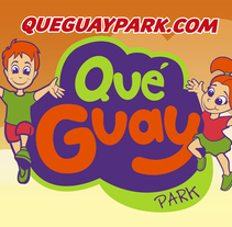 Qué Guay Park , marca corporativa e ilustracionesNuevo proyecto. A Illustration, and Graphic Design project by Paki Mora         - 28.06.2016