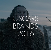 Oscars brands 2016. A Br, ing, Identit, Graphic Design, T, pograph, and Film project by Lucía Aranaz         - 03.03.2016