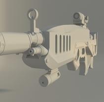 Sniper. Un proyecto de 3D de Carla González García         - 03.04.2015
