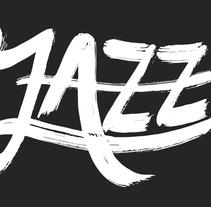 Cartel Jazz  Azuqueca. A Graphic Design project by David González Gallego         - 06.03.2016