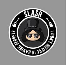 Fan art de Slash. Un proyecto de Diseño y Diseño Web de Veronica Almech         - 06.03.2016