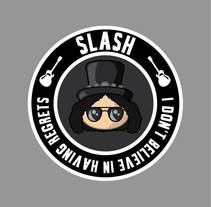 Fan art de Slash. A Design, and Web Design project by Veronica Almech         - 06.03.2016